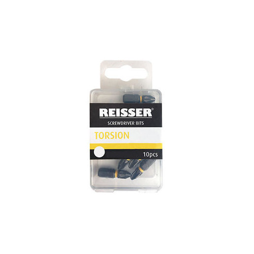 Reisser Torsion Screwdriver PZ2 Bits - 10