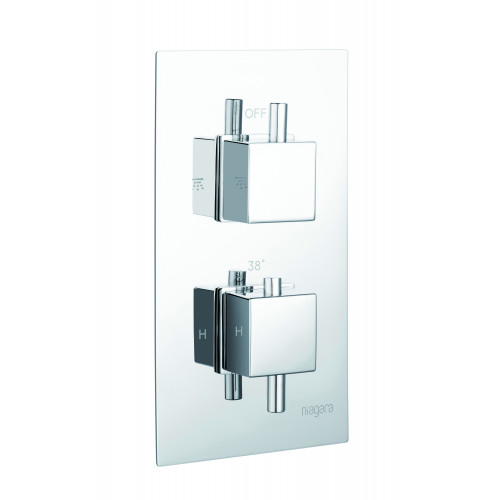 Niagara Observa Concealed 1 Outlet Shower Valve With Square Handles