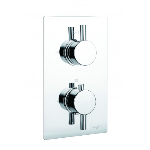 Niagara Observa Concealed 1 Outlet Shower Valve With Round Handles