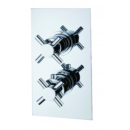 Niagara Carter Concealed 1 Outlet Shower Valve With Cross Head Handles