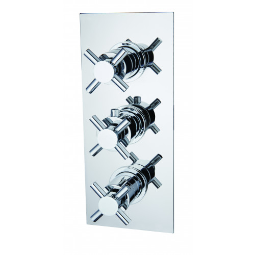 Niagara Carter Concealed 2 Outlet Shower Valve With Cross Head Handles