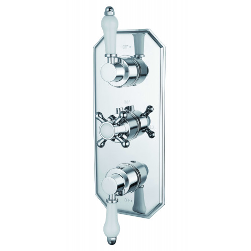 Niagara Arlington Concealed 2 Outlet Shower Valve With Traditional Handles