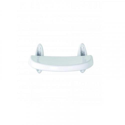Croydex Wall Mounted White Fold Away Shower Seat Main