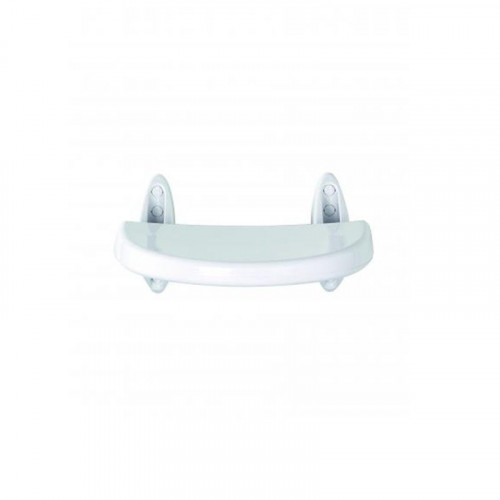 Croydex Wall Mounted White Fold Away Shower Seat Main