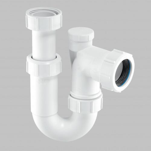 McAlpine Adjustable Inlet Anti-Syphon ''P' Trap - 32mm
