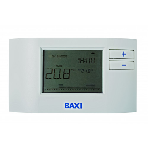 Baxi 200/400 7 Day Wireless Programmable Digital Thermostat