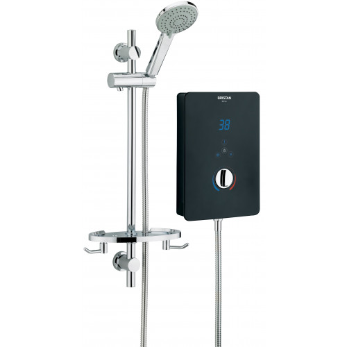 Bristan Bliss 10.5 kW Electric Shower - Black