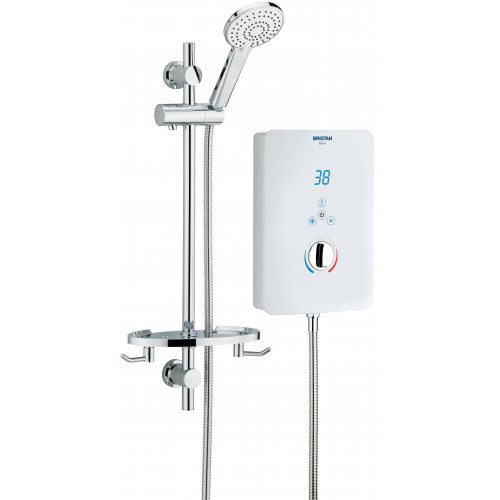 Bristan Bliss 10.5 kW Electric Shower - White