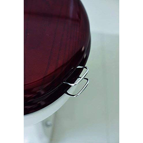 Burlington Toilet Seat Chrome Handles + Screws & Template