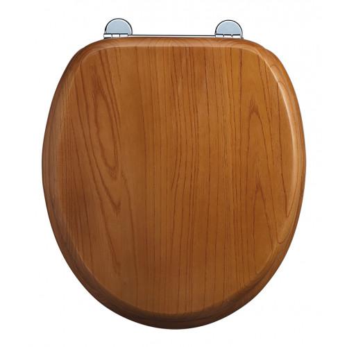 Burlington Standard Seat + Cover Golden Oak