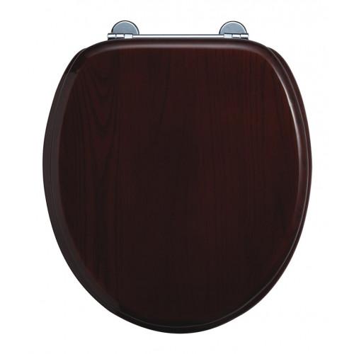 Burlington Standard Seat + Cover Mahogany
