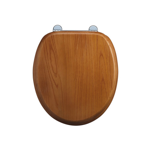 Burlington Soft Close Seat + Cover - Golden Oak