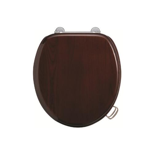 Burlington Soft Close Seat + Cover - Mahogany