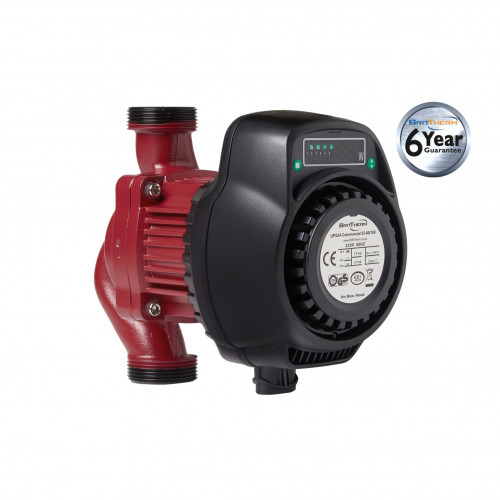 BritTherm UPS2A 25-80/180 Modulating Commercial Heating Circulating Pump