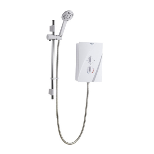 Bristan Cheer 9.5 kW Shower - White