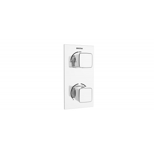 Bristan Cobalt Concealed 1 Outlet Shower Valve