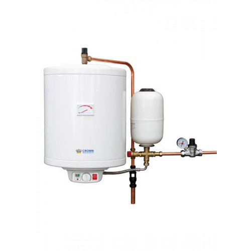 Crown 50 Litre HiStore Wall Mounted Hot water Cylinder