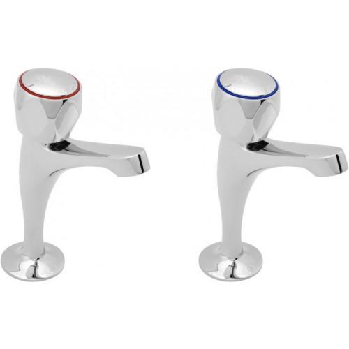 Aqua Sink Pillar Taps