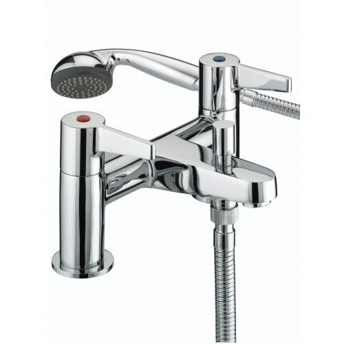 Bristan Design Utility Lever Bath Shower Mixer