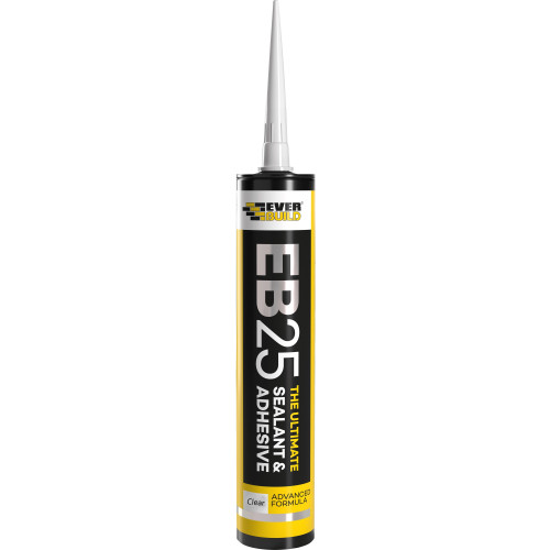 Everbuild EB25 Ultimate Sealant & Adhesive - Clear