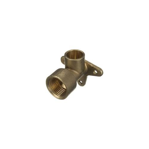"""End Feed Wall Plate Elbow - 15mm x ½"""""""