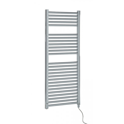 Biasi Dolomite 1200mm x 600mm Straight Chrome Electric Towel Rail