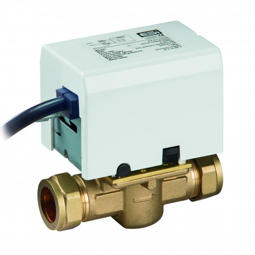 ESI 2 Port Mororised Zone Valve - 22mm