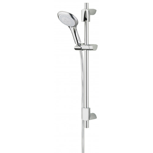 Bristan Evo Shower Rail Kit + Evo 3 Function Shower Head