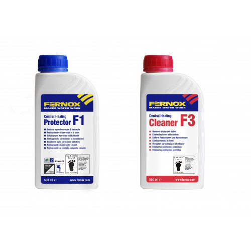 Fernox F1 + F3 Inhibitor + Cleaner Pack