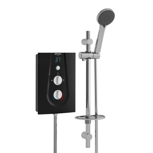 Bristan Glee 10.5 kW Electric Shower - Black