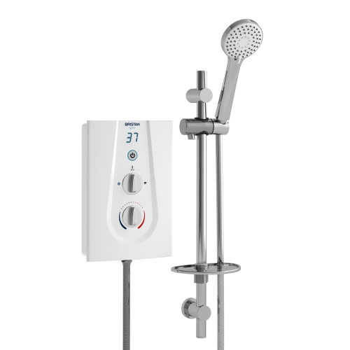 Bristan Glee 10.5 kW Electric Shower - White