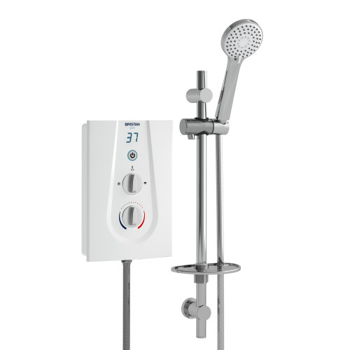 Bristan Glee 8.5 kW Electric Shower - White