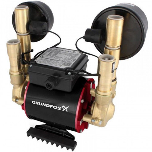Grundfos Amazon 1.5 Bar Twin Universal Shower Pump