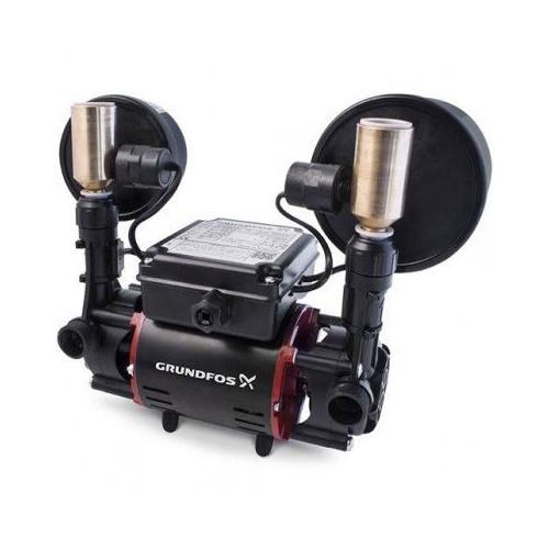Grundfos STR2 CN 2.0 Bar Twin Universal Shower Pump