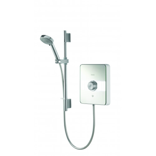 Aqualisa Lumi Electric 8.5 kW - White/Chrome