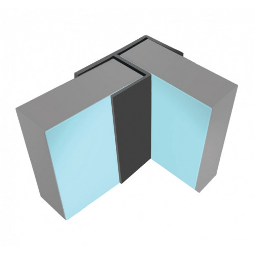 Multipanel Linda Barker Classic & Herritage, Flush Corner Profile - Black