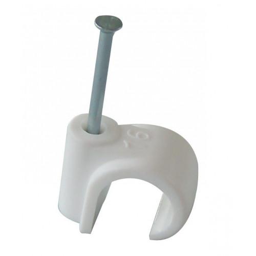 Nail-In Pipe Clip - 15mm