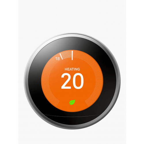 Nest Learning Thermostat 3rd Generation - Stainless