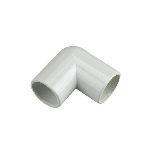 Floplast Overflow 90° Elbow (White) - 21.5mm