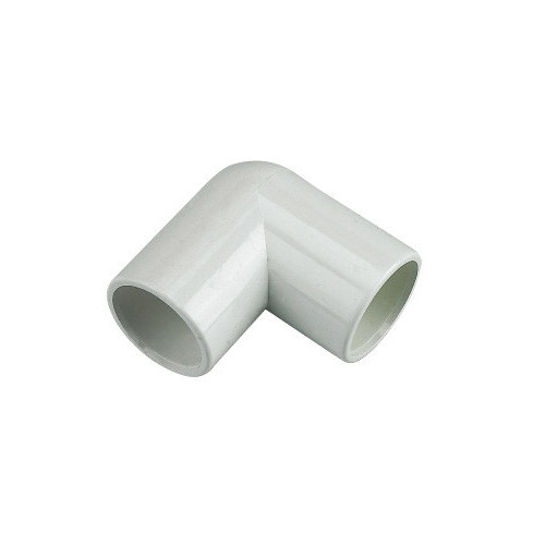 Floplast Overflow 90° Elbow (White) - 21.5mm