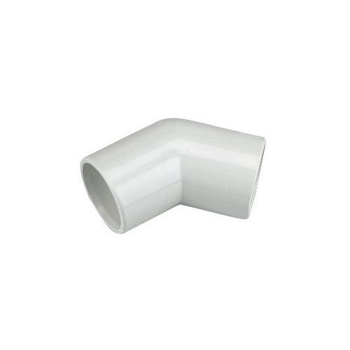 Floplast Overflow 45° Elbow (White) - 21.5mm