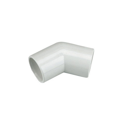 Floplast Overflow 45° Elbow (White) - 21.5mm