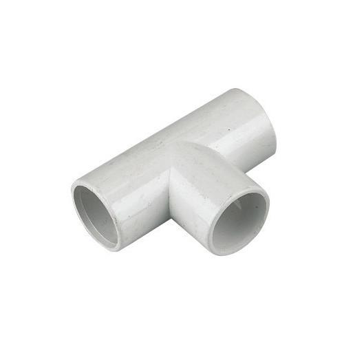 Floplast Overflow Tee (White) - 21.5mm