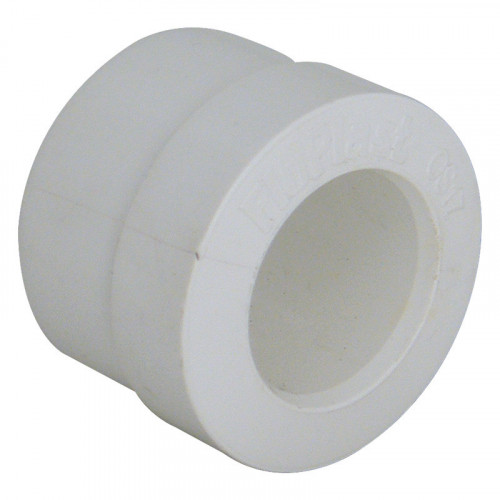 Floplast Overflow Waste Reducer (White) - 40mm - 21.5mm