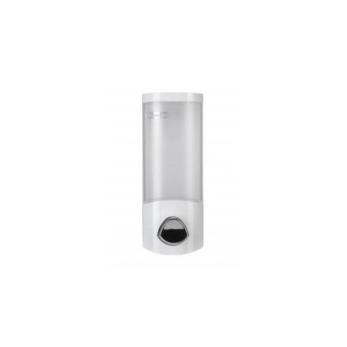 Croydex Euro Dispenser Uno Wall Mounted Soap Dipenser White Main