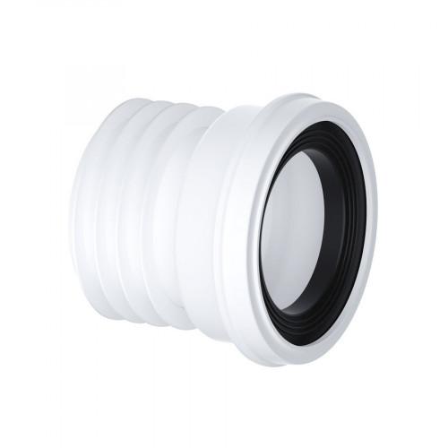 Viva Straight Rigid WC Pan Connector