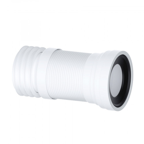 """Free P/&P Flexible Toilet WC Waste Flexi Pan Connector FOR STANDARD 4/"""" PIPE"""