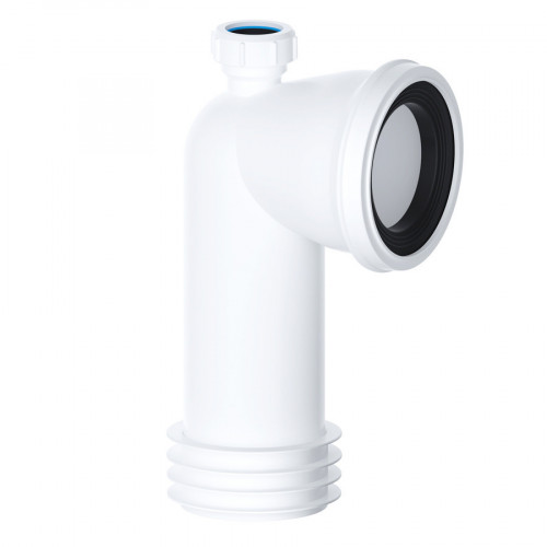 Viva 90° Bent Rigid WC Pan Connector With 32mm Inlet