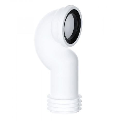 Viva Swan Neck Rigid WC Pan Connector