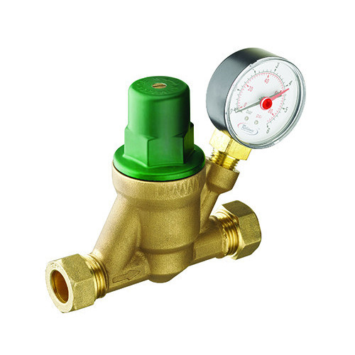 RWC Predator Pressure Reducing Valve + Guage - 15mm